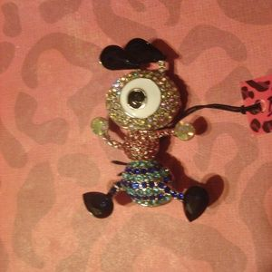 Betsey Johnson One eyed Alien Pin/Brooch
